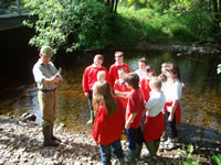 St Brides school win Salmon in the Classroom trophy