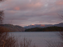 Sunset over Loch Morar