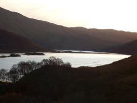 Lochailort sunset